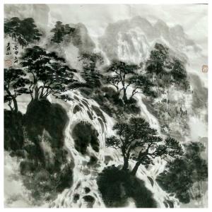 马青山国画作品《【山水】作者马青山》价格2880.00元