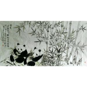 马青山国画作品《【国宝】作者马青山》价格7200.00元