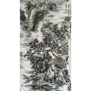 马青山国画作品《【青山】作者马青山》价格2400.00元