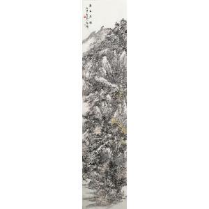 郎祎国画作品《【春山居图】作者郎祎》价格14400.00元