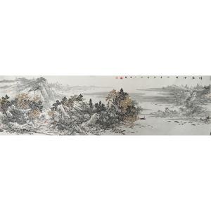 郎祎国画作品《【江】作者郎祎》价格14400.00元