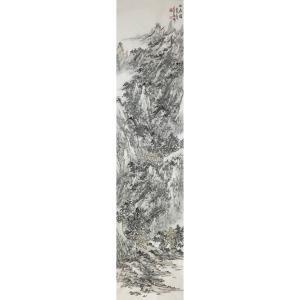 郎祎国画作品《【山居图2】作者郎祎》价格14400.00元