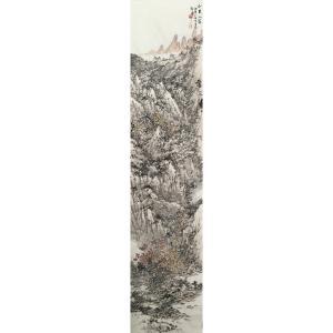 郎祎国画作品《【山里人家】作者郎祎》价格14400.00元