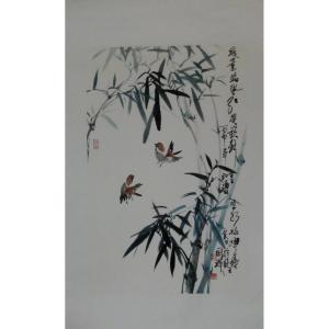 丁国祥国画作品《【竹子2】作者丁国祥》价格720.00元