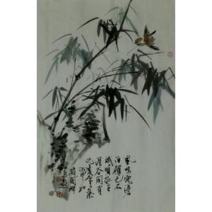 丁国祥国画作品《【竹子6】作者丁国祥》价格720.00元