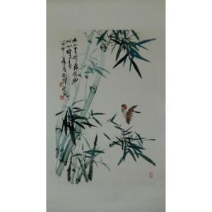 丁国祥国画作品《【竹子7】作者丁国祥》价格720.00元
