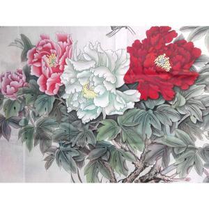 刘安同国画作品《【牡丹3】作者刘安同》价格11040.00元
