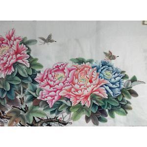 刘安同国画作品《【牡丹4】作者刘安同》价格11040.00元
