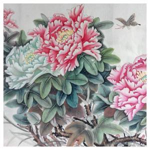 刘安同国画作品《【牡丹6】作者刘安同》价格11040.00元