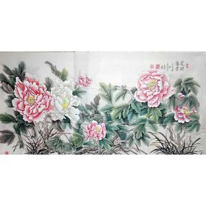 刘安同国画作品《【牡丹7】作者刘安同》价格11040.00元