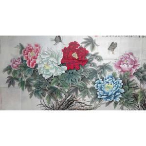 刘安同国画作品《【牡丹9】作者刘安同》价格11040.00元