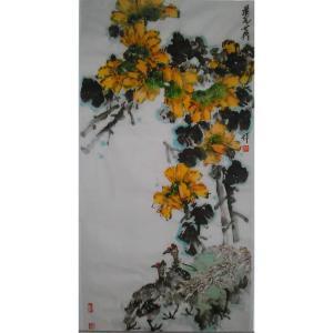 毛世英国画作品《【花鸟2】作者毛世英》价格28800.00元