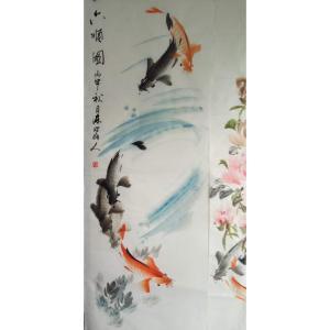 王学东国画作品《【六顺图】作者王学东》价格432.00元