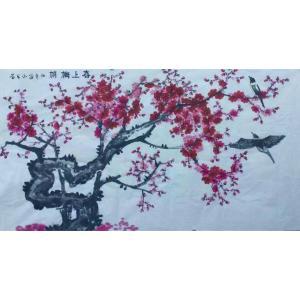邢华林国画作品《【喜上眉梢】作者邢华林》价格1920.00元
