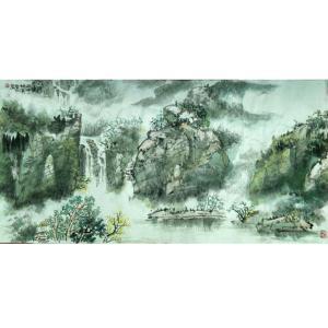 秦自立国画作品《【山水】作者秦自立》价格48000.00元