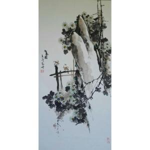 潘劲伸国画作品《【花鸟】作者潘劲伸》价格9600.00元