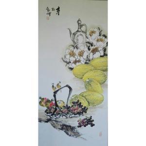 潘劲伸国画作品《【丰收2】作者潘劲伸》价格9600.00元