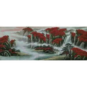 周马龙国画作品《【山水6】作者周马龙》价格312.00元