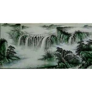 周马龙国画作品《【山水11】作者周马龙》价格312.00元