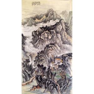 夏广怡国画作品《【春秋远】作者夏广怡》价格9600.00元