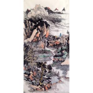 夏广怡国画作品《【山水】作者夏广怡》价格9600.00元