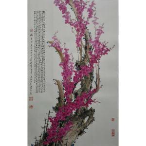 肖晖国画作品《【花开不知寒】作者肖晖》价格192000.00元