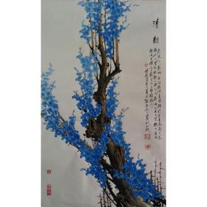 肖晖国画作品《【清韵3】作者肖晖》价格192000.00元