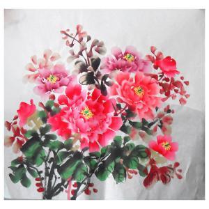 朱德宾国画作品《【花开富贵】作者朱德宾》价格200.00元