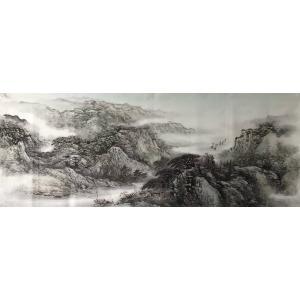 许国华国画作品《【山水2】作者许国华》价格1200.00元