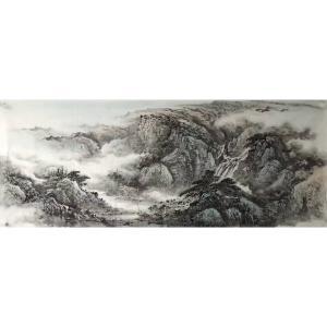许国华国画作品《【山水3】作者许国华》价格1200.00元