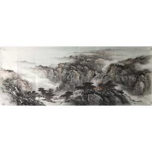 许国华国画作品《【山水5】作者许国华》价格1200.00元