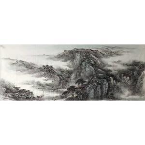 许国华国画作品《【山水6】作者许国华》价格1200.00元