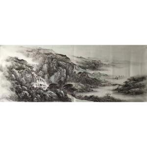 许国华国画作品《【山水7】作者许国华》价格1200.00元