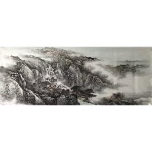 许国华国画作品《【山水8】作者许国华》价格1200.00元