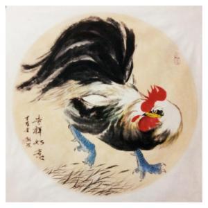 马新荣国画作品《【吉祥如意】作者马新荣》价格960.00元