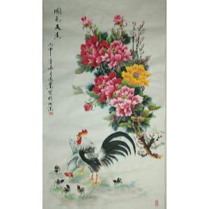 李凤业国画作品《【国色天香】作者李凤业》价格360.00元