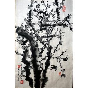 陶文祥国画作品《【闹春】作者陶文祥》价格552.00元