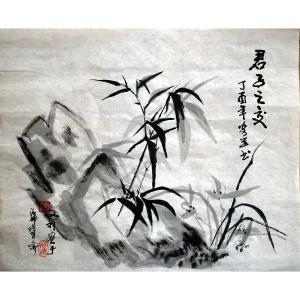 陶文祥国画作品《【君子之交】作者陶文祥》价格720.00元