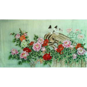 胡记领国画作品《【富贵吉祥2】作者胡记领》价格1800.00元