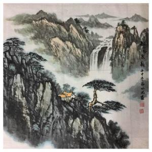 张怀林国画作品《【松风泉韵1】作者张怀林》价格312.00元
