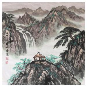 张怀林国画作品《【松风泉韵3】作者张怀林》价格312.00元