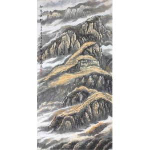 张怀林国画作品《【秋染太行】作者张怀林》价格672.00元
