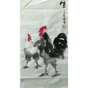 冯耀午国画作品《【生机勃勃1】作者冯耀午》价格12000.00元