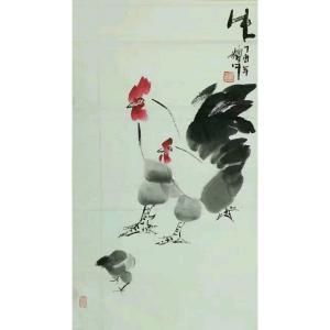 冯耀午国画作品《【生机勃勃2】作者冯耀午》价格12000.00元