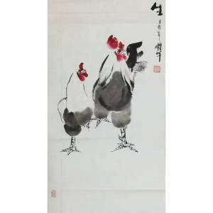 冯耀午国画作品《【生机勃勃4】作者冯耀午》价格12000.00元