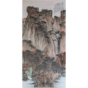 高顺岭国画作品《【林泉远幽图】作者高顺岭》价格43200.00元
