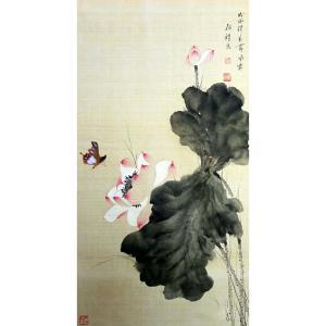 张清永国画作品《【出水荷】作者张清永》价格258.00元