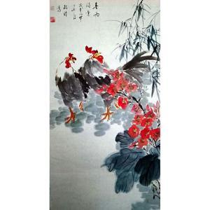 张清永国画作品《【春风得意】作者张清永》价格258.00元