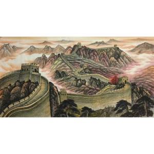 黎才国画作品《【长城雄风】作者黎才》价格480.00元