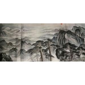 黎才国画作品《【山水1】作者黎才》价格480.00元